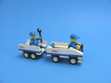 LEGO 1682 Transport Vehicle White Blue- 2 Technicians- Complete Vehicle Only!