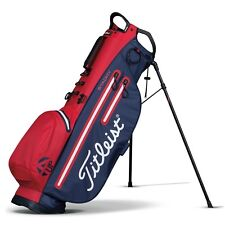 NEW 2017 Titleist 4UP STADRY STAND CARRY BAG, RED/NAVY, TB6SX2-64, 3.9 lbs