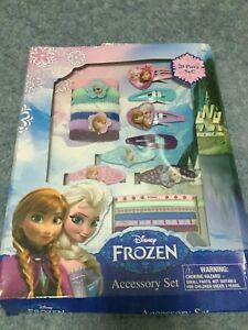 Frozen 20 Pieces Hair Set frozen hairclips and barrettes NEW