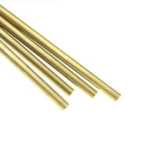 Solid Brass H62 Round Rod Bar Shaft Ø2mm-25mm CNC Metalworking Model Makers DIY