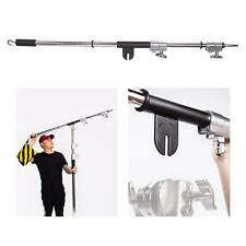 Heavy Duty Boom Arm Universal 215cm Adjustable Photography Studio Photo Video UK