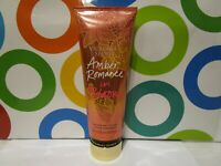 VICTORIA'S SECRET ~ AMBER ROMANCE IN BLOOM FRAGRANCE LOTION ~ 8 OZ UNBOXED