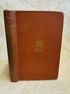 Antique Book Jane Eyre, By Charlotte Bronte - 1925