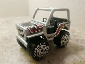 Vintage Buddy L Lifter Jeep Grey Good Condition 1980