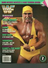 WWF MAGAZINE MAY 1993 HULK HOGAN ANDRE THE GIANT BRET HART