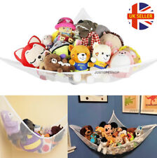 Large Soft Toy Teddy Hammock Mesh Net Baby Childs Bedroom Nursery Tidy Organizer