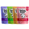 Barking Heads Dog Food Wet Adult / Puppy Feed Chicken Lamb Pouches 300g