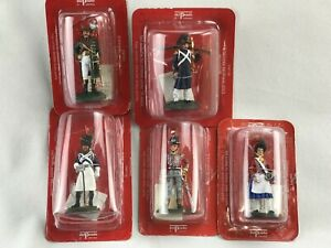 Lot De 5 Figurines De Collection En Plomb Del Prado 2003 SNP