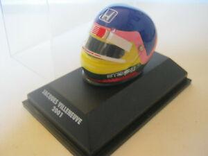 1:8 Helmet Driver J.Villeneuve BAR 2001 Minichamps IN Showcase