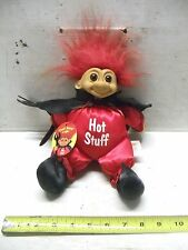 """Large Troll Devil Doll Hot Stuff By Russ With Tag Nice 12"""" high"""