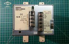 Omron S82J-30024 Power Supply 100-120VAC 200-230VAC  OUTPUT 24V/14 A