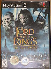 The Lord Of The Rings The Two Towers game PlayStation 2 Sony PS2 Original Case