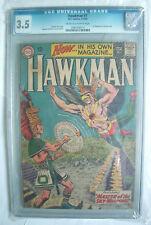 HAWKMAN N. 1 SERIE CGC 3.5 DC 1964