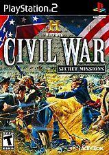 History: Civil War Secret Missions