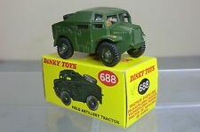 DINKY TOYS MODEL No.688  FIELD ARTILLERY  TRACTOR   MIB