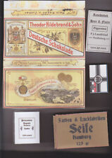 WW1 GERMAN PACK FILLERS WRAPPER AND BOXES SET (REPRO)