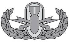 Basic Explosive Ordnance Disposal (EOD) Badge Decal