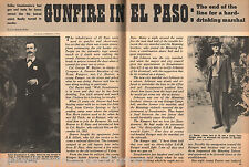 "Texas Rangers Shoot-out ""Gunfire In El Paso""- Baylor,Deaver,Gillette,Scott,Teich"