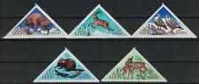 RUSSIA,USSR:1973 SC#4093-97 MLH Caucasus and Voronezh wildlife reserves n1256
