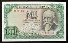 More details for spain 1000 pesetas banknote (p-154) 1971 mint unc