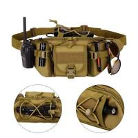 Tactical Waist Bag Pouch Military Belt Pack Outdoor Camping Hiking Waterproof