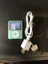 iPod Nano charger bundle, 3rd generation, 8gb, Green, Great Condition