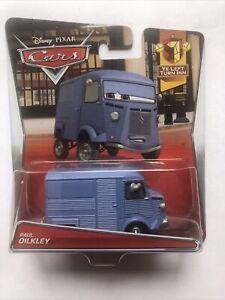 CJM39 Mattel Disney Pixar Cars Ye Left Turn Inn Paul Oilkley 4/7 1:55 Die-Cast