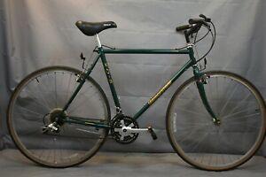 "1993 Bridgestone X0-5 City Hybrid Bike 23"" X-Large 4130 Chromoly Steel Charity!!"