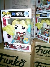 Funko Pop *FREE Protector* DC Heroes HARLEY QUINN w/ Boom Box #279 PX Exclusive