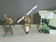 KING AND COUNTRY BBG13 GERMAN ARMY INFANTRY WINTER SKI TROOPERS TOY SOLDIER SET