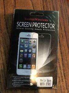 Bastrex Wireless Screen Protector Matte for Moto XT907 Droid Razr Maxx (5 pcs)