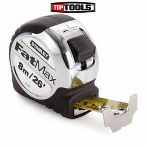 Stanley STA533891 FatMax Xtreme Metric/ Imperial Tape Measure 8m/26ft 5-33-891