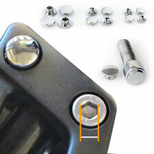 Harley Davidson ALUMINUM ALLEN BOLT COVERS ALUMINUM ALLEN BOLT CAPS FOR M5 BOLT