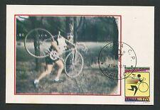 ITALIA MK 1979 SPORTS CYCLING MAXIMUMKARTE CARTE MAXIMUM CARD MC CM d4050