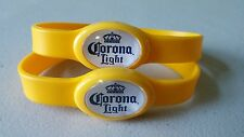 CORONA LIGHT WRIST BAND LIGHTS UP NEW LOT OF 2