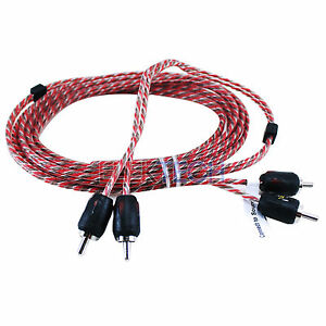 Stinger SI429 RCA Interconnect Audio Cable 2 Channels 9 ft 4000 Series Stereo