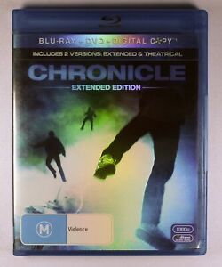 Chronicle Blu Ray Extended Edition FREE POST