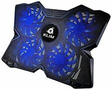 Klim Refroidisseur PC portable quadruple Ventilateur Support Ventilé Gamer gamin