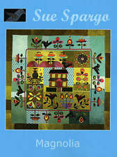 MAGNOLIA QUILTING PATTERN, Softcover Book From Sue Spargo Folk-Art Quilts NEW
