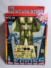 COMPLETE 1980s 1/55 ALPHA HENSHIN ROBO LEGIOSS AFC-01H ROBOTECH MOSPEADA GREEN