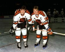 Wayne Gretzky, Mario Lemieux All Stars NHL Rendez-vous '87 8x10 Photo