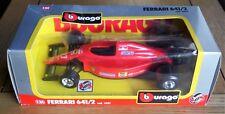 Bburago Ferrari 641/2 Formula 1 model cod 6101 1/24 Jean Alesi
