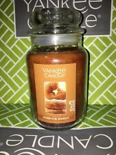 Pumpkin Donut Yankee Candle 623g 22oz Large Jar - Brand New Genuine