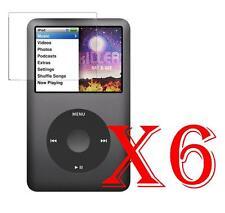 6 PZ PELLICOLA PROTEZIONE DISPLAY LCD Apple iPod Classic 7 Gen. PROTEGGI SCHERMO