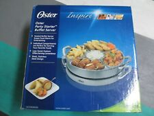 NEW Oster Party Starter Buffet Server Inspire Collection CKSTBSRD00 51 Ounces