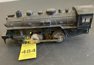 Vintage Marx  Toys No. 490 Steam Engine Only Black Train Car (No Tender)