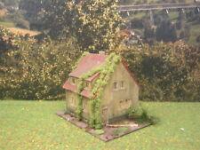 H0 1:87 Verlassenes Haus Märklin Fleischmann Roco Diorama Modelleisenbahn #17