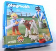 Playmobil Kälbchenfütterung 4968 Neu & OVP Bauernhof Kalb Katzen