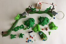 Playmobil Miscellaneous Trees And Camping Accessories Lot