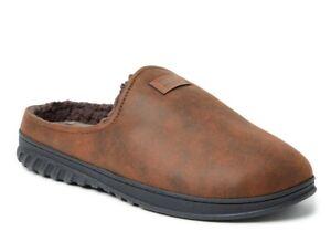 DF by Dearfoams Men's Mountain Slip-on Gel Infused Mule Slippers Shoes: S-XL